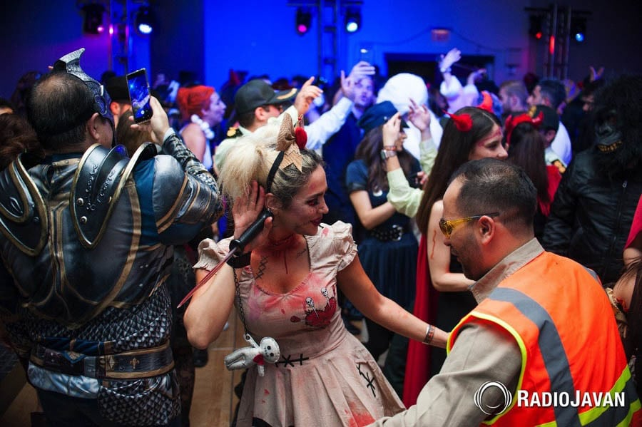 Radio Javan Halloween Party in Washington D C  | DJ Taba