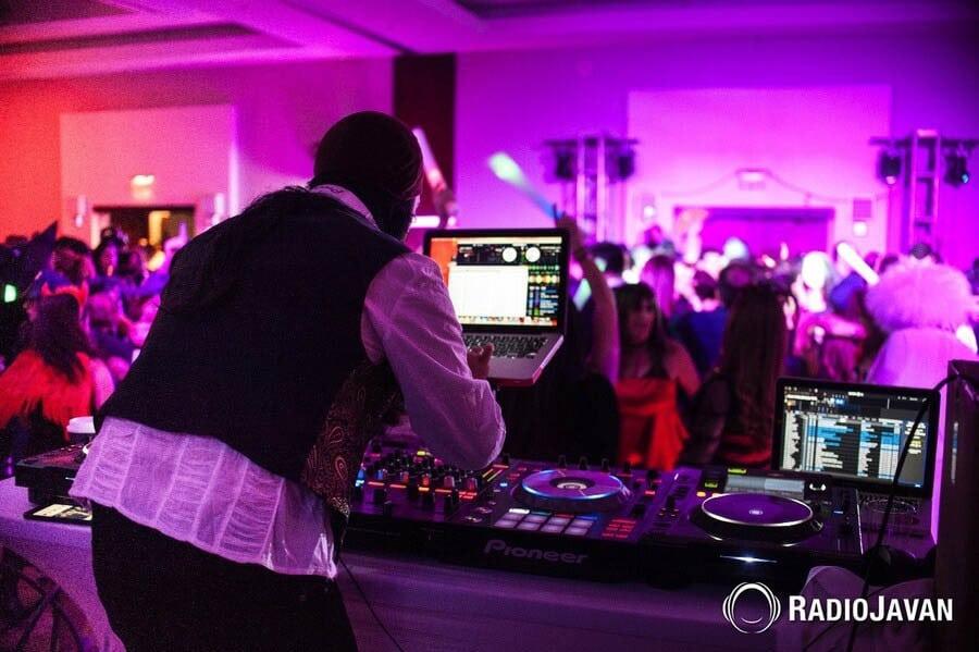 Radio Javan Halloween Party in Washington D C  | DJ Taba